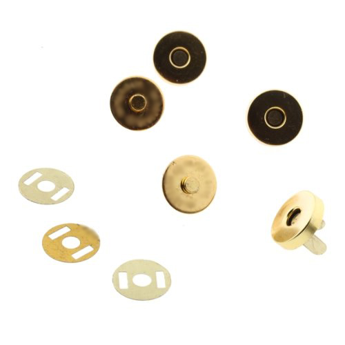 Boutique 10 pcs Magnetic Snap Fasteners Buttons for Handbag Bags 18x14mm(China (Mainland))