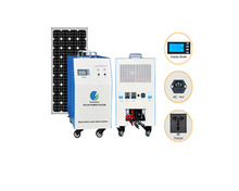 3KW Solar Light Solar Power System 1000w Solar Panel Micro Grid Tie Inverter Pure Sine Wave 3000W Battery 12v SFPS1321