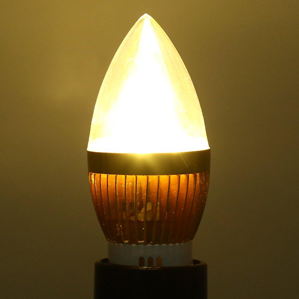 2016 Best Sales LED Bulb E14 3W 220V LED Dimmable Candle Light Bulb Cool Beam Low Heat Generating Long Lifespan LED Brightness(China (Mainland))