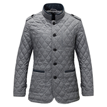 Top 2015 Winter Men's Comfortable Coat With Fluff Mandarin Collar Grey Trenchcoat Outwear Popular Men Overcoat Size M-3XL MWM195(China (Mainland))