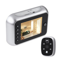 "3.5""  LCD T115 Color Screen Doorbell Viewer Digital Door Peephole Viewer Camera Door Eye Video record 120 Degrees Night vision(China (Mainland))"
