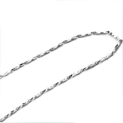 Unique 100% Real Pure 925 Sterling Silver necklace babysbreath chain.TOP quality Fine Jewelry free shipping NL-001<br><br>Aliexpress