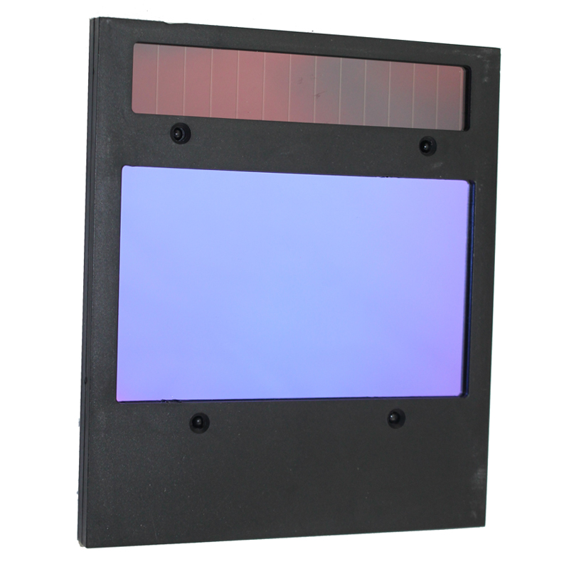 Rechangeable battery 4 arc sensor solar auto darkening/shading grinding welding helmet/welder goggles/mask/cap filter lens(China (Mainland))