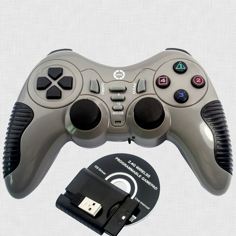 Double Shock Wireless Gamepad Controller Joystick Controler Joypad For PS2 PS3 Pc Playstation Game Pad Control BCG11G-P57(China (Mainland))