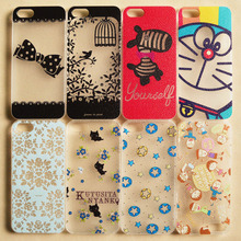Beautiful Flower Design Painted Hard Back Cover Cases Fit For Apple iPhone 4 4s 4G Case For Phone Fashion Shell