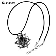 Buy Samyeung 10Pcs Lot Assassins Creed Necklaces Man Jewelry Stainless Steel Star Necklace Male Neckless Colar Creed Accessories for $16.49 in AliExpress store