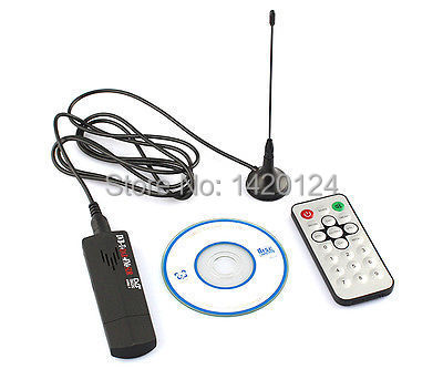 ROHS Mini Digital USB 2.0 TV Stick FM+DAB DVB-T RTL2832U + R820T Support SDR Tuner Receiver with Remote Control for Computer PC(China (Mainland))