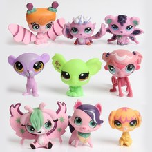 48 styles Littlest Pet Shop LPS Toys For Kids Gifts Action Figure Toys Little Animals Scale Model Cute pokemon figures kids toys(China (Mainland))