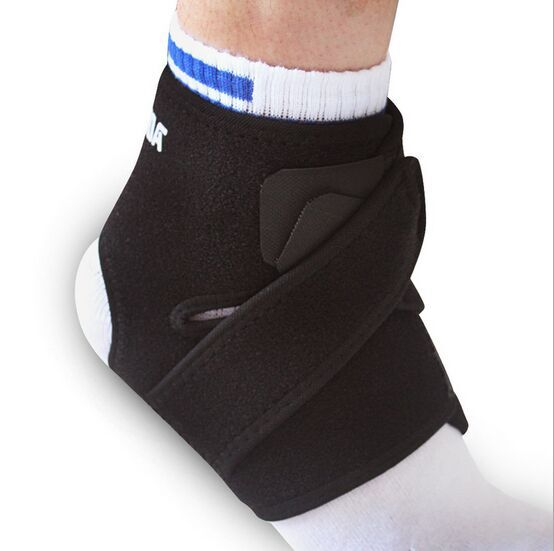 Adjustable Sports Elastic Ankle Support Breathable Ankle Brace Wrap Pad Foot Protection(China (Mainland))