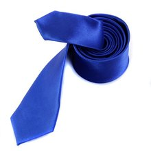 Buy Hot A set of 5 cm wide blue tie and 22 * 22 cm blue handkerchief for $1.54 in AliExpress store