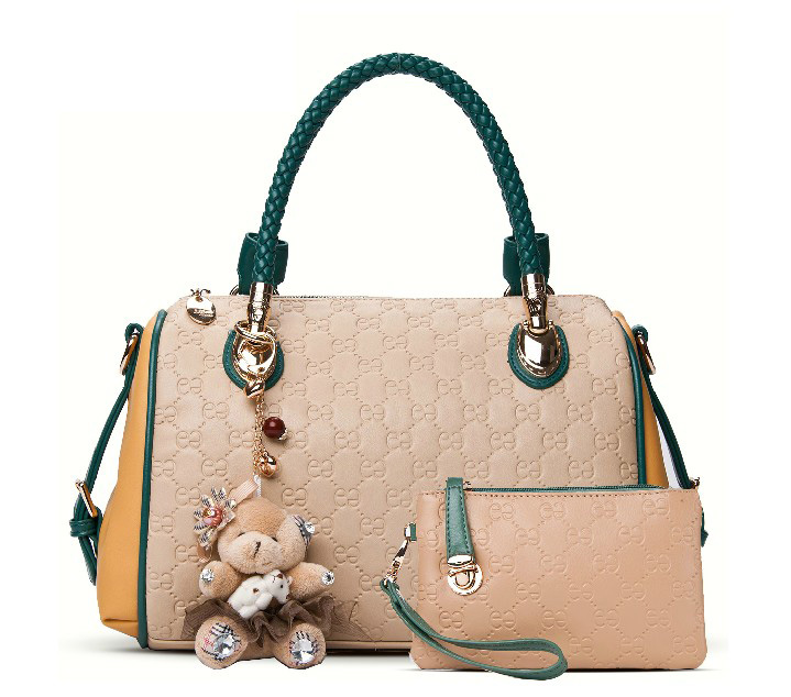 2014 women's spring fashion handbag genuine leather brief women's casual handbag shoulder bag cross-body women's handbag large