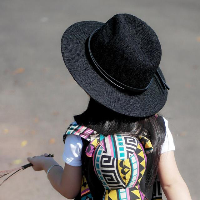 Мода дети Fedora джаз прохладно малыш мальчик в девочке Cap фотографии Top Hat хлопок шляпа для 3 - 8 лет