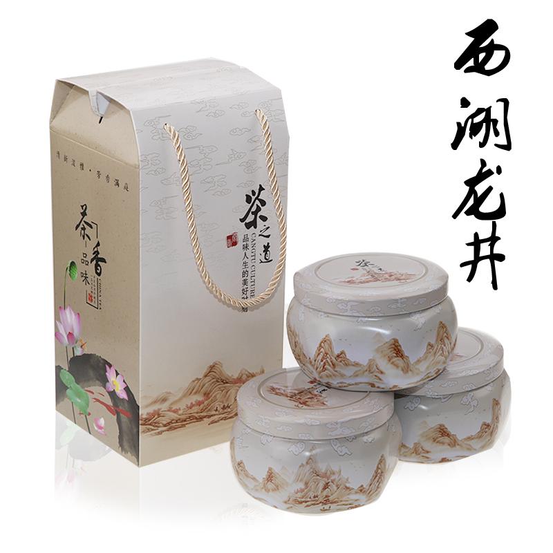 West lake longjing tea 2012 tea premium longjing tea gift box 180g green tea<br><br>Aliexpress