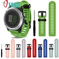 Excellent Quality Watch Bands Soft Silicone Strap Replacement Watch Band With Tools For Garmin Fenix 3