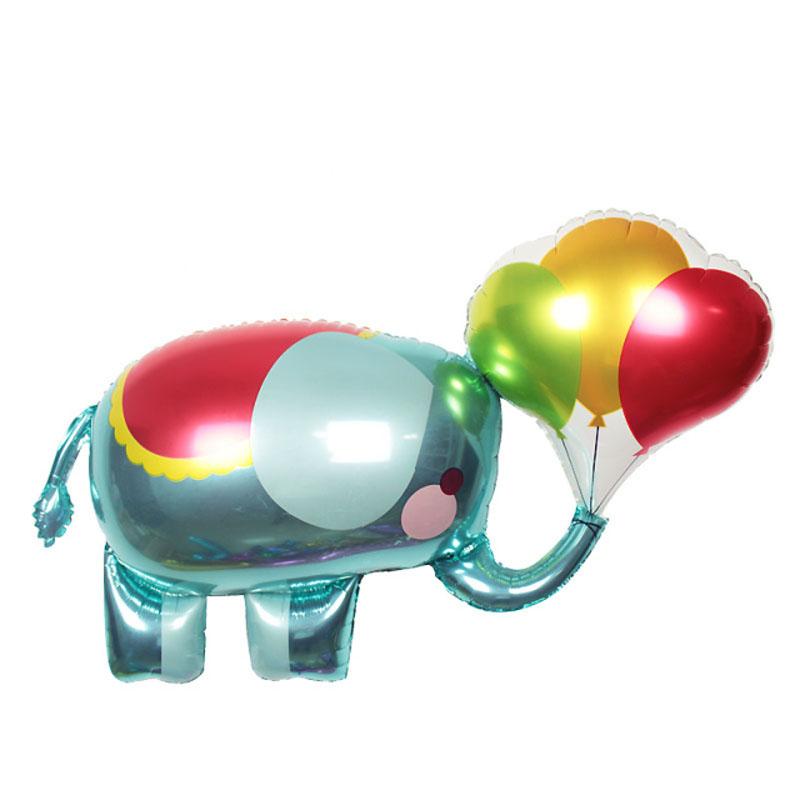 105x60cm balloon animals foil animal balloon birthday for Balloon decoration equipment
