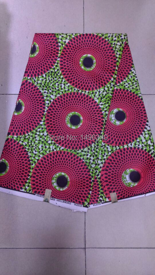 6yards african hollandais wax print fabric super wax for Fabric material for sale