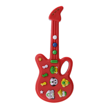 Guitar Toy Child Baby Kids Foxy Electronic Guitar Rhyme Developmental Plastic Music Sound Toy Kids Toy Musical Instrument(China (Mainland))