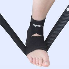 Adjustable Sports Ankle Support Elastic Ankle Support Brace Pad Foot Protection Football Basketball Sports Safety 1Pc (China (Mainland))