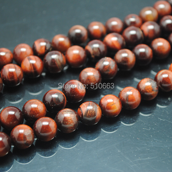 64 Pieces/Lot,Nature Red Tiger Eye Stone,For Charms Shambala Bracelet Jewery Designs,Round Ball,Size: 12mm(China (Mainland))