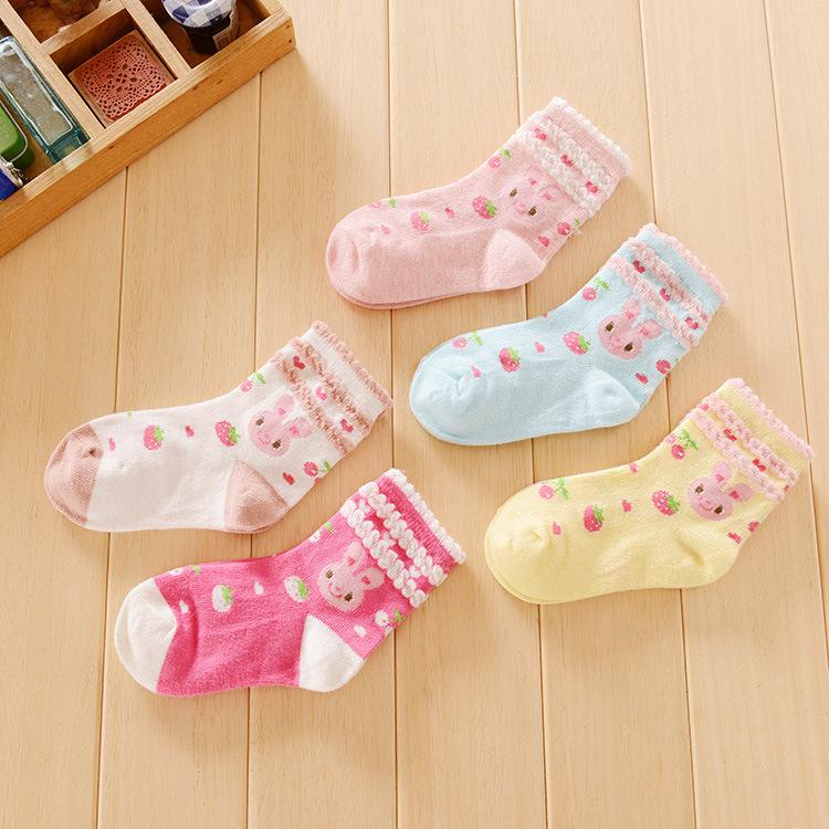Носки для девочек 12pair/7