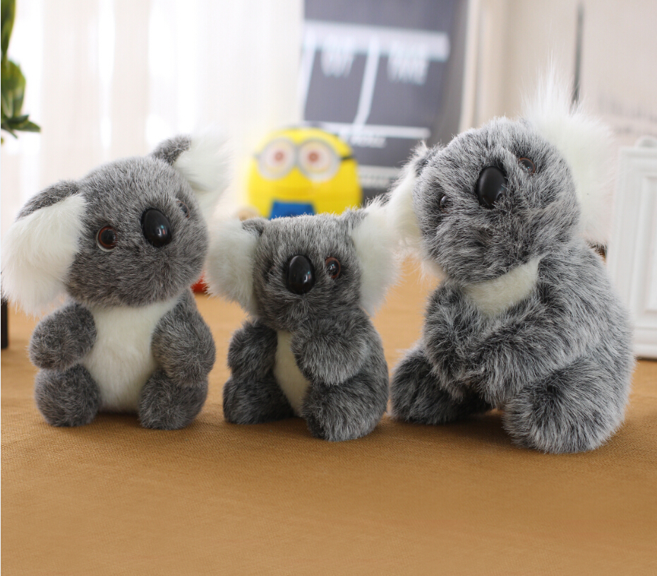 Best quality 13cm16cm20cm Koala Plush Toy Stuffed Animal koala big Dolls Soft Baby Toys Free Shipping(China (Mainland))