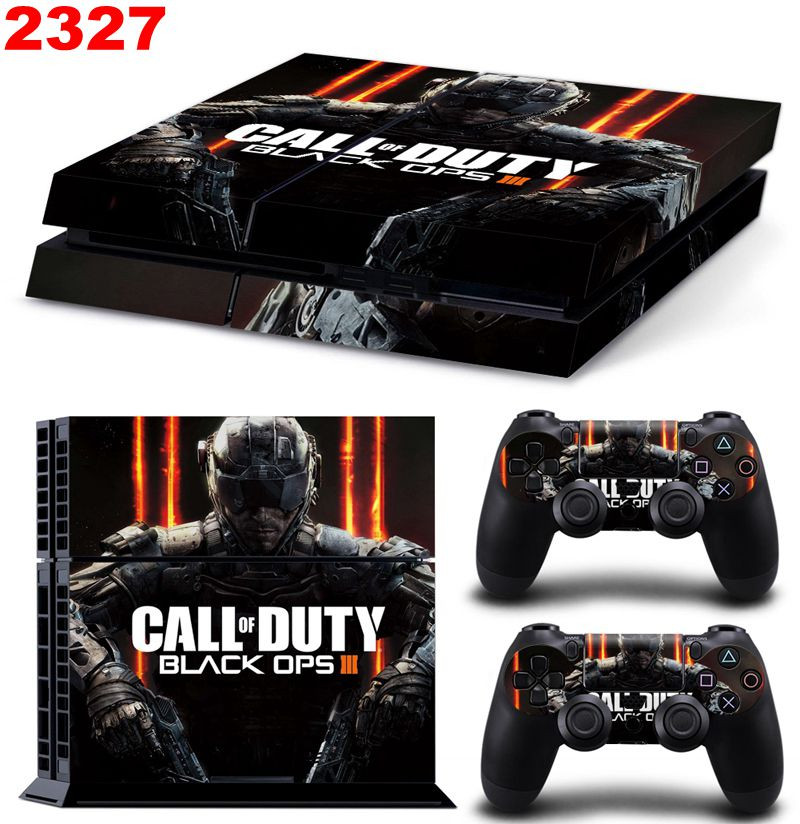 image for Call Of Duty Black Ops 3 New Vinyl Skins Sticker For Sony PS4 PlayStat