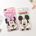 14 Styles Phone Cases for Iphone 7 7 Plus 6 6s Plus Cute Cartoon Mickey
