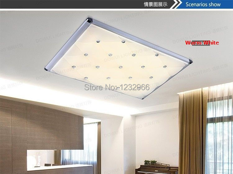 LED Lamp Lustre Home Lighting 53x48cm 48w 85-265v Dimmable Remote Control LED Lustres Lamp for Home Lighting <br>
