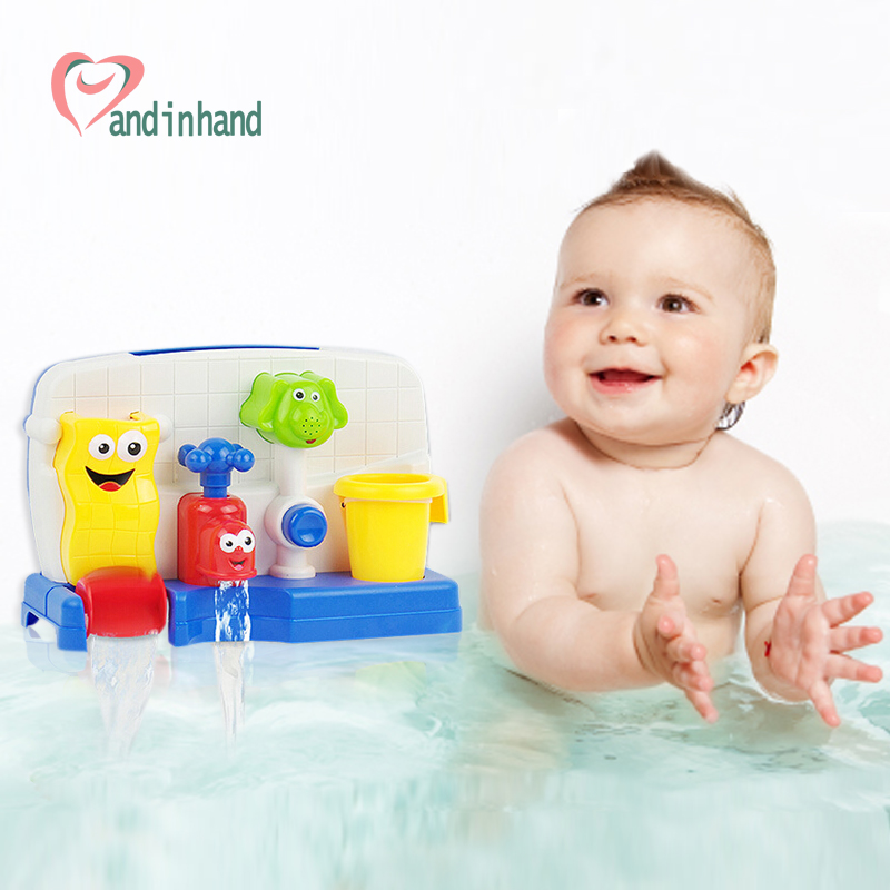 Faucet Bath Toys Summer Swimming Pool Automatic Spray
