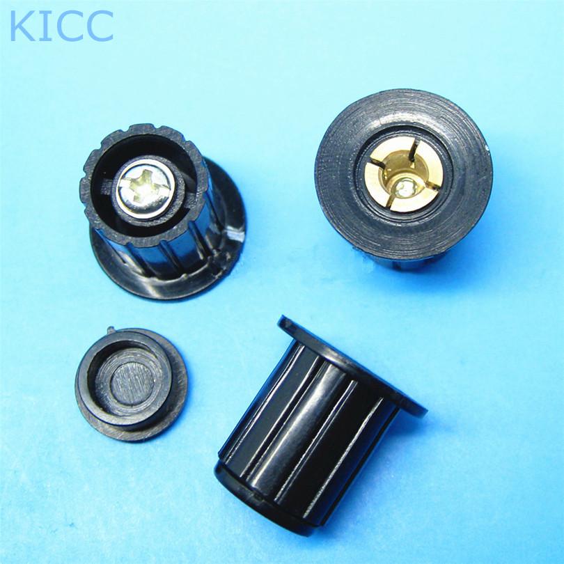WXD3-13 Black Plastic knob KYP16-16-4 potentiometer knob (5Pcs/Lot) Free Shipping<br><br>Aliexpress