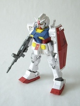 SD Gundam RX-78 Ka Ver Denes54 Paper Model - New Toy Center store