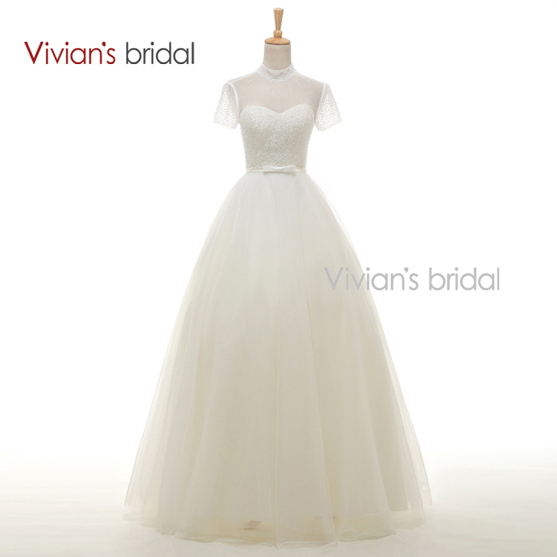 Buy vivian 39 s bridal sexy backless short for High neck backless wedding dress