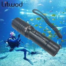 Buy 40 Z90 3800Lm XM-T3 Waterproof Dive Underwater 80 Meter LED Diving LED Flashlight Torch Lamp Light Camping Lanterna 18650 for $9.90 in AliExpress store