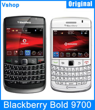 Original Unlocked Blackberry Bold 9700 BlackBerry OS v5.0 3G Phone 3.15MP GPS QWERTY Keyboard Cell Phone WIFI  Russian Language(China (Mainland))