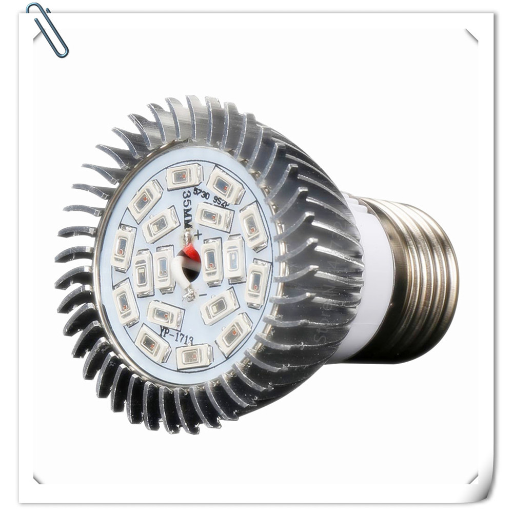18 LEDs Grow Lights Full Spectrum E27 18W SMD5730 12Red:6Blue AC85-265V Plant Lamp Hydroponics Flowers Plants Vegetables Growing