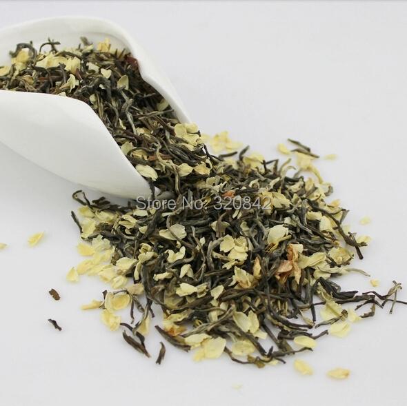 100g new jasmine flowers green tea jasmine flurries chinese tea green jasmine flower green food Wholesale