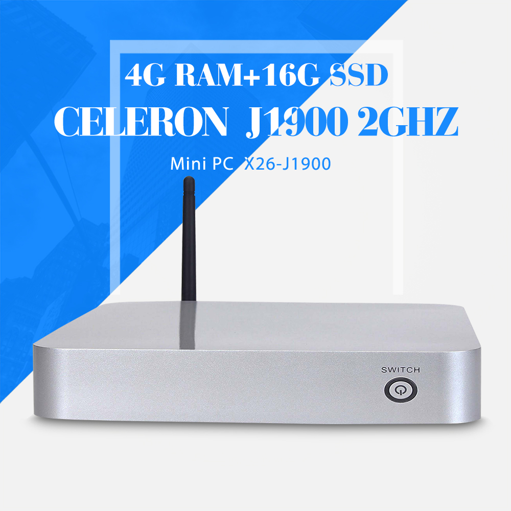 smaller space, energy celeron J1900 4g ram 16g ssd+wifi industrial mini pc notebook computer support Linux OS Ubuntu(China (Mainland))