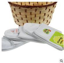 Hot wholesale 2015 new summer children sport short white socks cotton100% kids boys/girls socks 12pairs/lot  for 4-12 years old