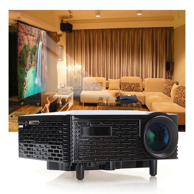 Mini LED Projector 500 Lumens HDMI VGA USB AV SD Multimedia Home Theatre Portable High-end electronic gifts family education