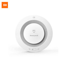 Buy Xiaomi Mijia Honeywell Fire Alarm Remote Control Smoke Detector White Work Gateway Audible Self Check Visual App Control for $31.88 in AliExpress store