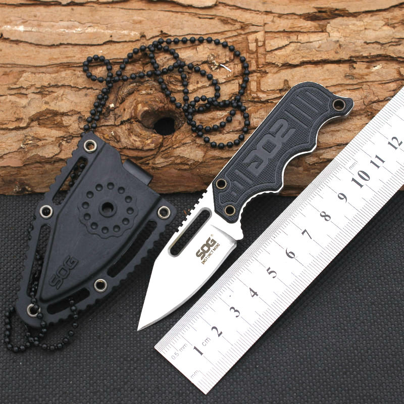 Buy New pocketcs SOG knifeTactical Rescue Hunting camping Tactical Rescue Surrival spyderco ganzo edc knives Outdoor Survival Tool cheap