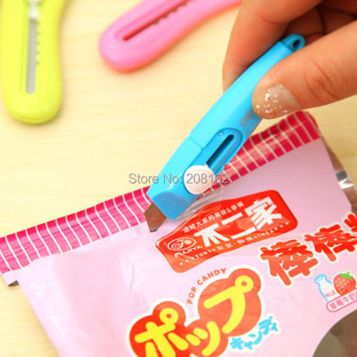 Mini Color Paper Knife Portable Small Pen Knife A Letter Opener(China (Mainland))