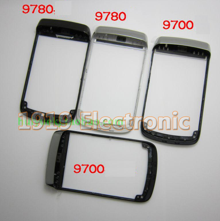 Original Front Frame Housing Case Cover Faceplate For Blackberry bold 9700 9780+Tracking(China (Mainland))