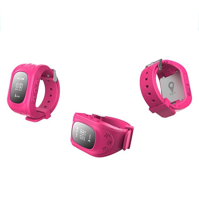 Q50 GPS Trackers Smart Watch Personal Tracker Anti lost Double Locate Remote Monitor SOS for Kids