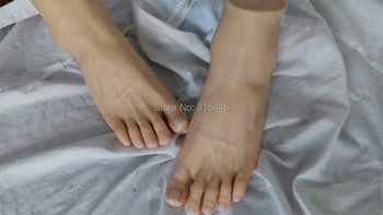 Newest 3D silicone  clone Pussy Feet male feet model takeo  man foot  fetish natural skin