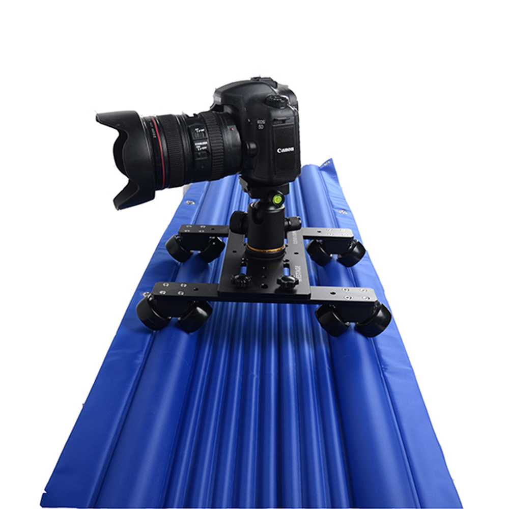 Professional air track camera slider design travel portable best video slider 1.2m 120cm dolly track jib dslr rail(China (Mainland))