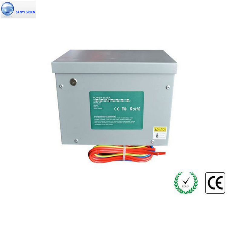 3 Phase Power Saver 300kw for Industrial Factory Motor and Commercial Electricity Energy Saving Box/Device + CE(China (Mainland))