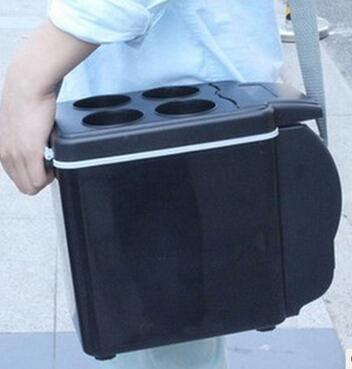6l car cooler and warmer portable 12V car fridge travel use(China (Mainland))