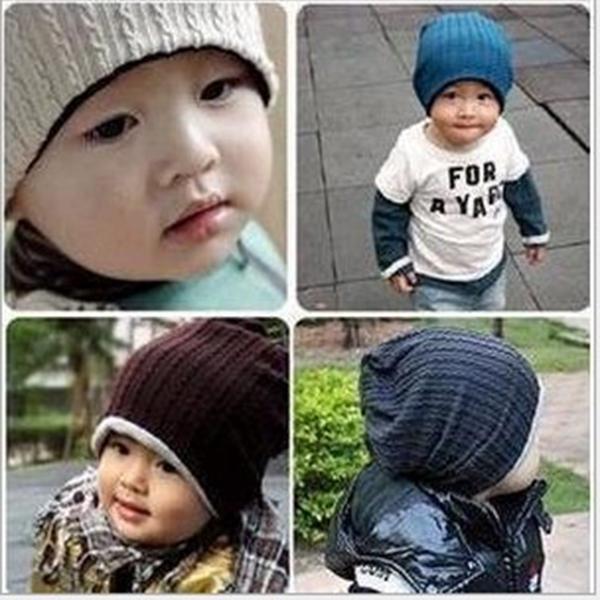 Мальчик шапки осень шапки зима шляпа для младенцы