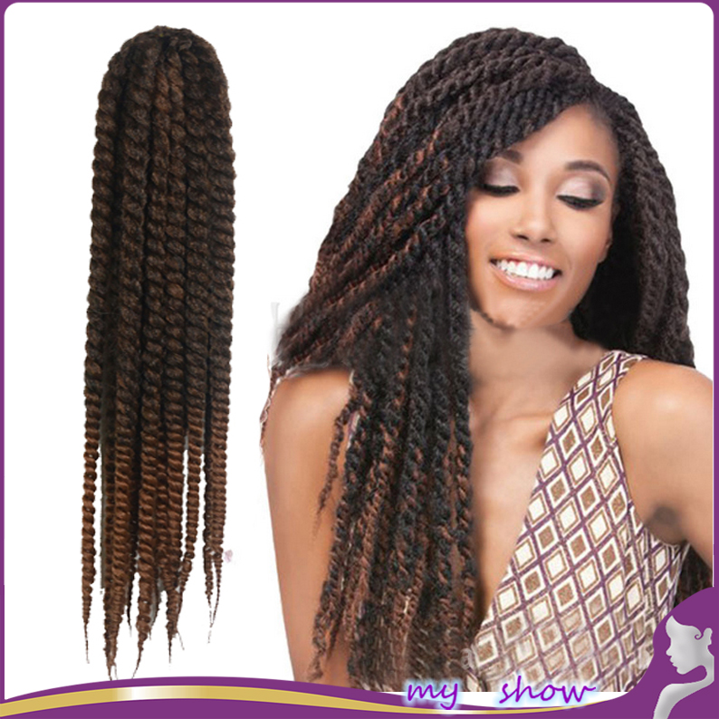 24 21 Color 2X Afro Kinky Curly Marley Kanekalon Braiding Hair ...